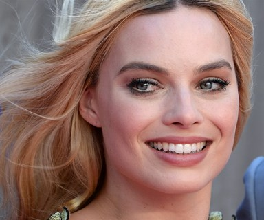 Margot Robbie's true blue shower routine
