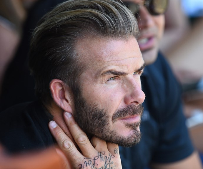 haircuts mens david beckham gets new neck s day 5604