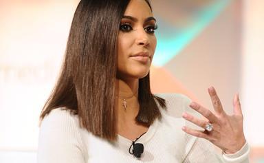 Kim Kardashian's latest laser treatment is rather unexpected…