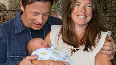 Jools and Jamie Oliver finally reveal their baby son's name