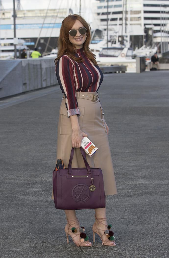 TV3 stylist Sarah Stuart. Photo: Simon Runting