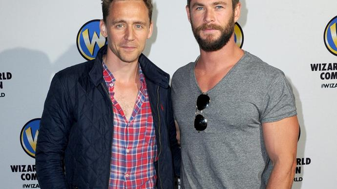 Chris Hemsworth Tom Hiddleston
