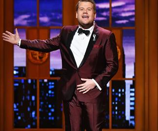 Watch 16-year-old James Corden's adorable first interview!