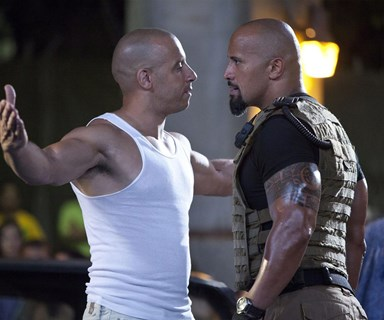 Is the feud between The Rock and Vin Diesel just publicity stunt?