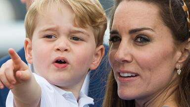 Duchess Catherine and Prince George love to bake together