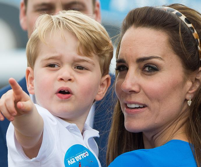 Duchess Catherine, Prince George