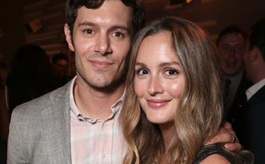 Leighton Meester and Adam Brody's rare red carpet date night