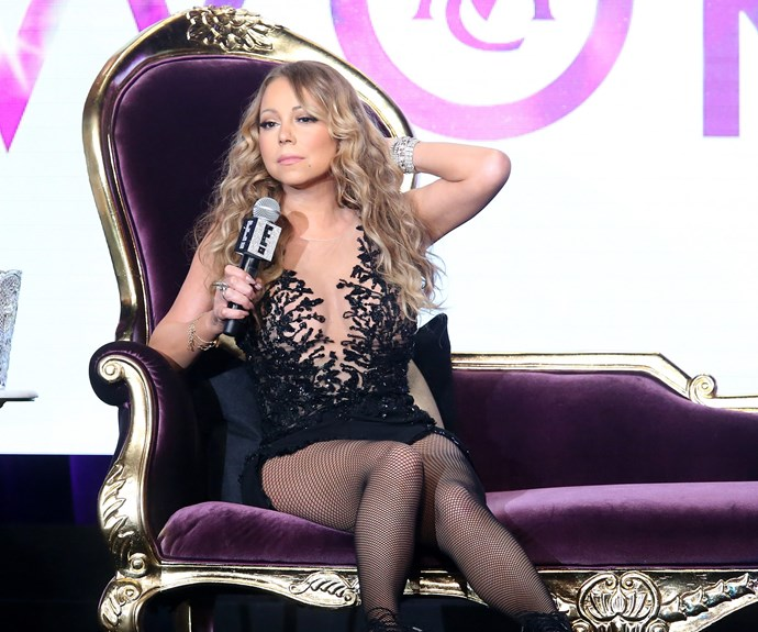 The singer's sister reportedly referenced one of Mariah's songs in an online ad for her services.
