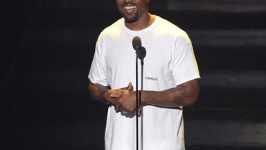 Kanye West delivers a passionate speech at the 2016 VMAs