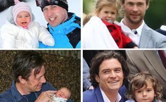 Prince William, Chris Hemsworth, Jamie Oliver and Orlando Bloom