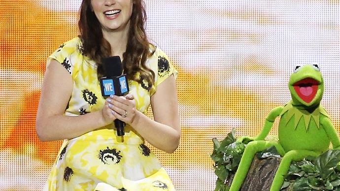 Zooey Deschanel Kermit