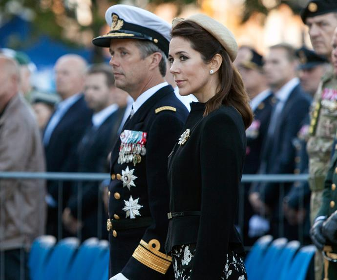 Prince Frederik Princess Mary