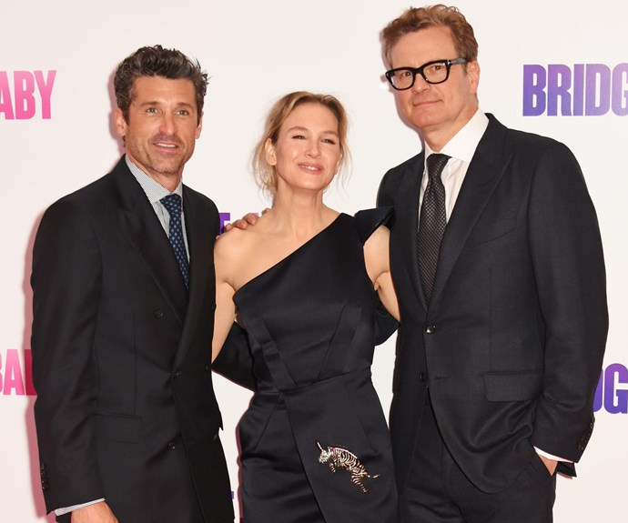 Patrick Dempsey, Renee Zellweger and Colin Firth