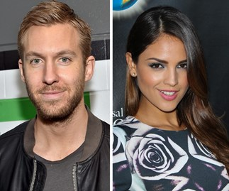 Calvin Harris and Eiza Gonzalez