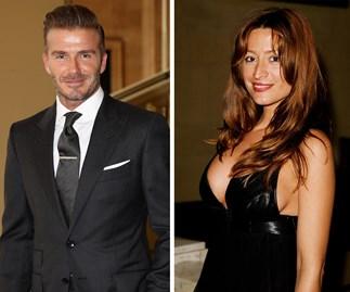 David Beckham and Rebecca Loos