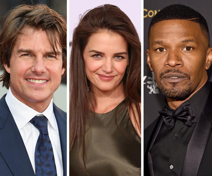 Katie Holmes Jamie Foxx Tom Cruise