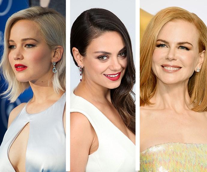 Jennifer Lawrence, Mila Kunis and Nicole Kidman