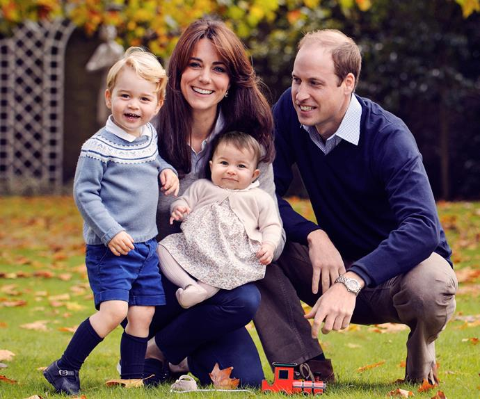 Prince William Duchess Catherine Prince George Princess Charlotte