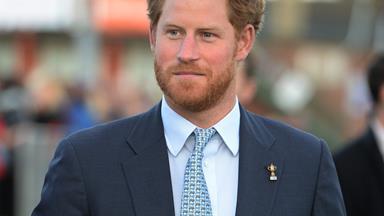 Prince Harry pays a secret visit to Princess Diana's AIDS hospital