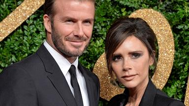 Victoria and David Beckham share beauty products