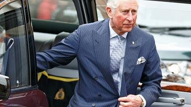 Prince Charles crashes into a deer at Balmoral