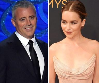 Matt LeBlanc awkwardly hits on Emilia Clarke at Emmys