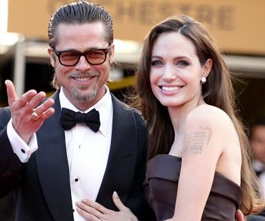 Brad Pitt and Angelina Jolie through the years