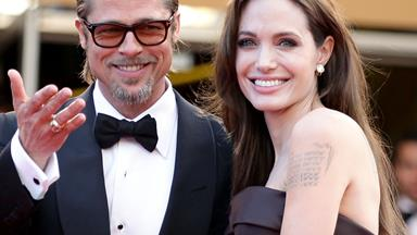 Brad Pitt and Angelina Jolie through the years