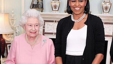 Michelle Obama had french fries at a Buckingham Palace sleepover