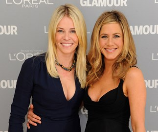 Chelsea Handlre Jennifer Aniston