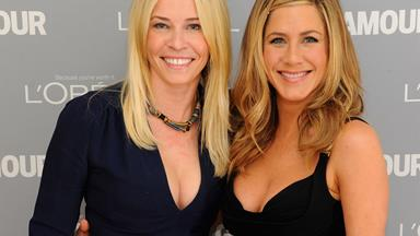 "Jennifer Aniston's best friend Chelsea Handler calls Angelina Jolie a ""f***ing lunatic"""