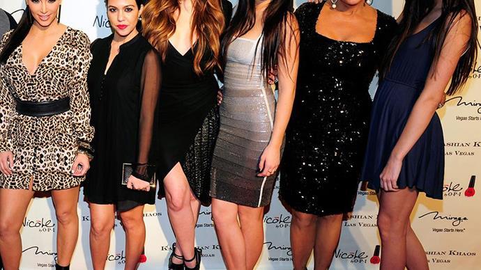 The Kardashian-Jenner clan