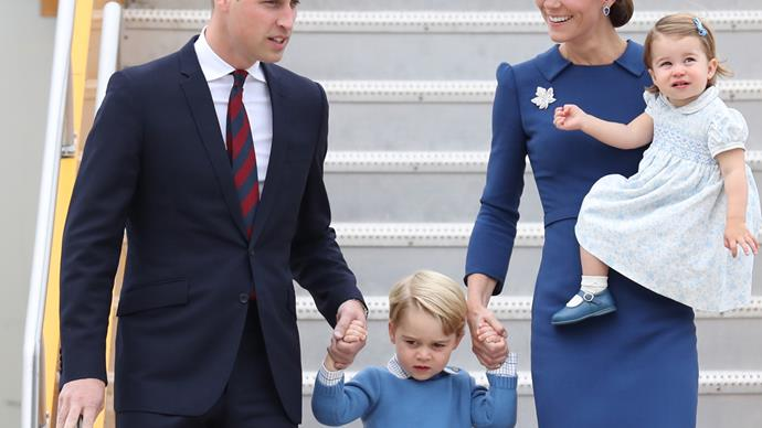 William and Kate arrive in Canada for Royal tour