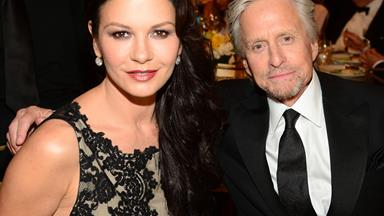 Catherine Zeta-Jones and Michael Douglas' special celebrations