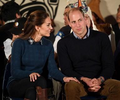 Prince William and Duchess Catherine brave the rain in Bella Bella