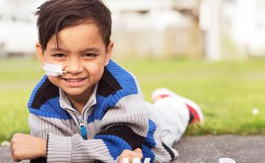 Smiling at last: Liver transplant boy's new hope