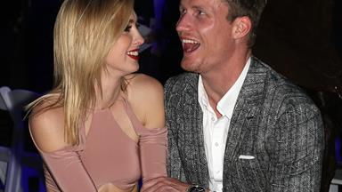Finally! Richie Strahan and Alex Nation have set a very important date