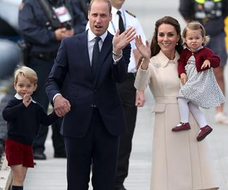 The Duke and Duchess of Cambridge with George and Charlotte