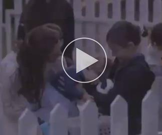 Prince George Princess Charlotte video