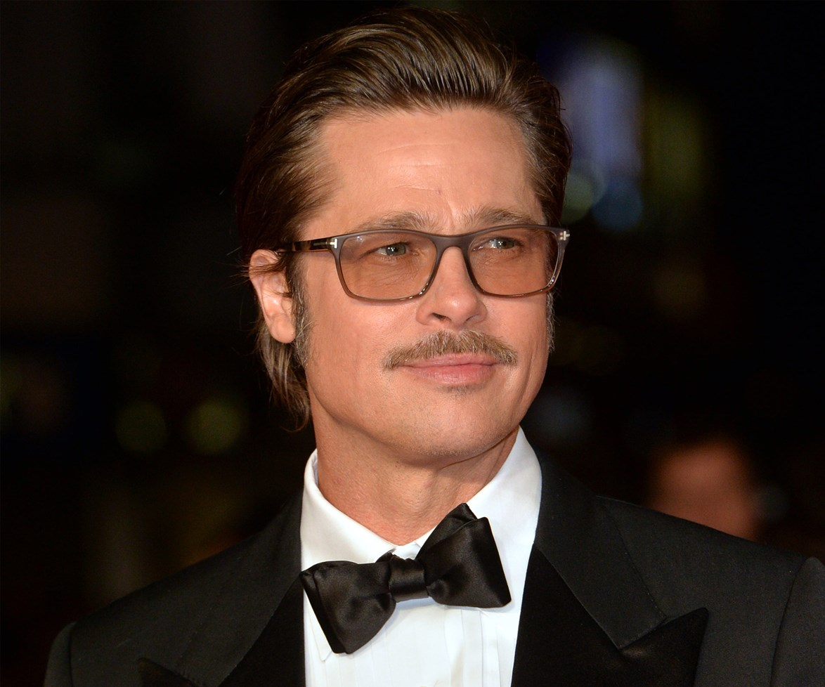 Apparently the actor not only trimmed his waistline, but his moustache too!