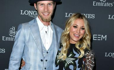 Kaley Cuoco makes her first red carpet appearance with boyfriend Karl Cook