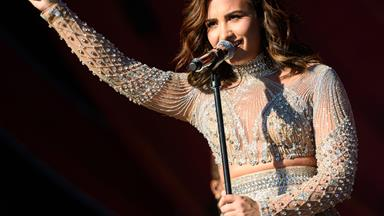 Demi Lovato hits out at Taylor Swift… then QUITS showbiz