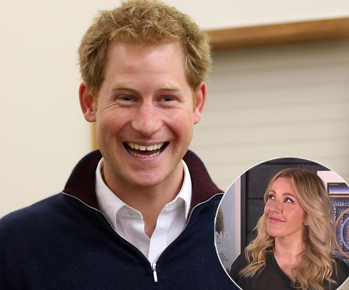 Prince Harry, Ellie Goulding