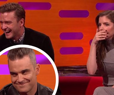 Robbie Williams reveals shocking sex story on Graham Norton