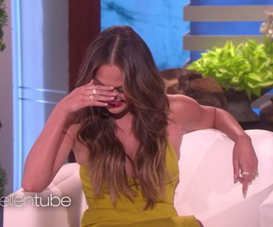 Chrissy Teigen has been going through Rihanna's mail illegally