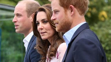 Royal trio put their heads together for Mental Health Day