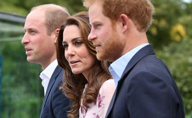 William, Harry and Kate celebrate World Mental Health Day
