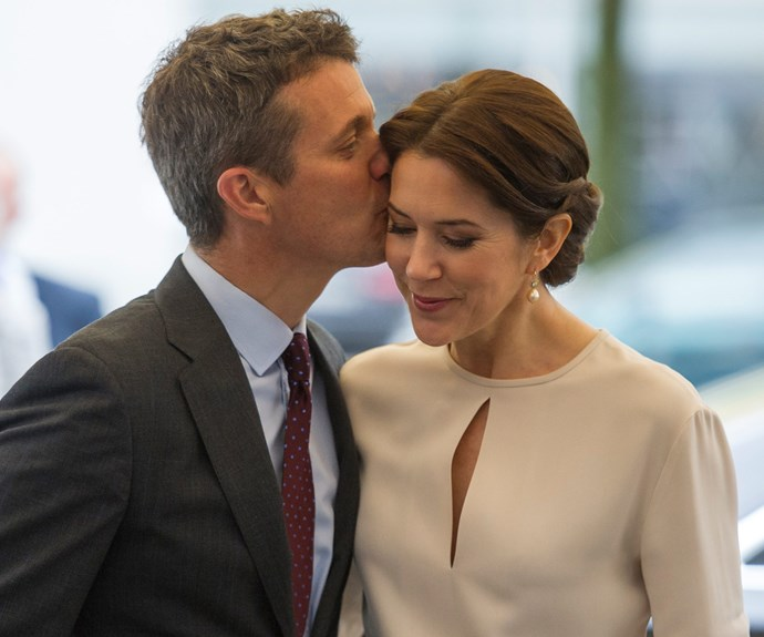 Crown Princess Mary and husband Prince Frederik