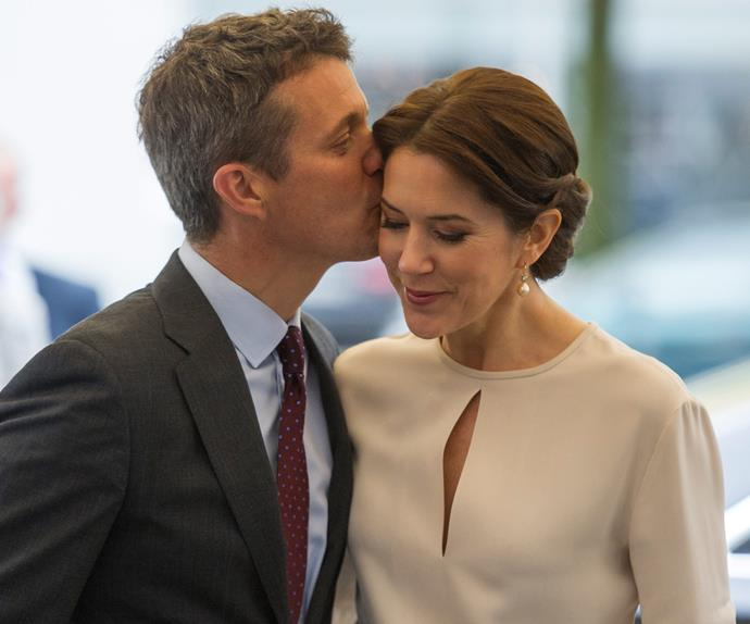 Crown Princess Mary and husband Prince Frederik