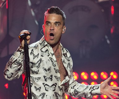 Robbie Williams reveals his battle with arthritis